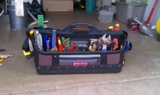 Image result for messy tool bag